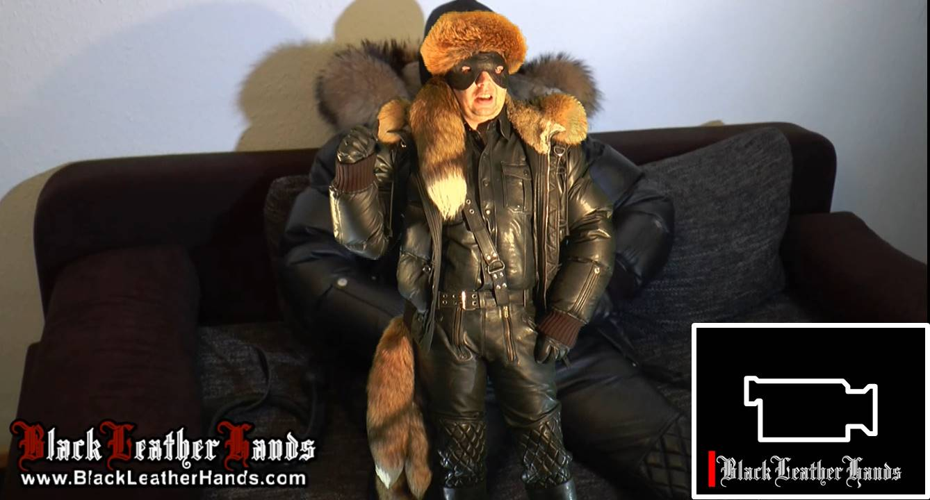 BLH IN LEATHER WITH DSQUARED JACKET